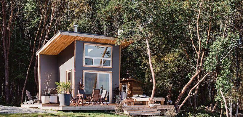 Необычная архитектура: миниатюрные дома в Канаде