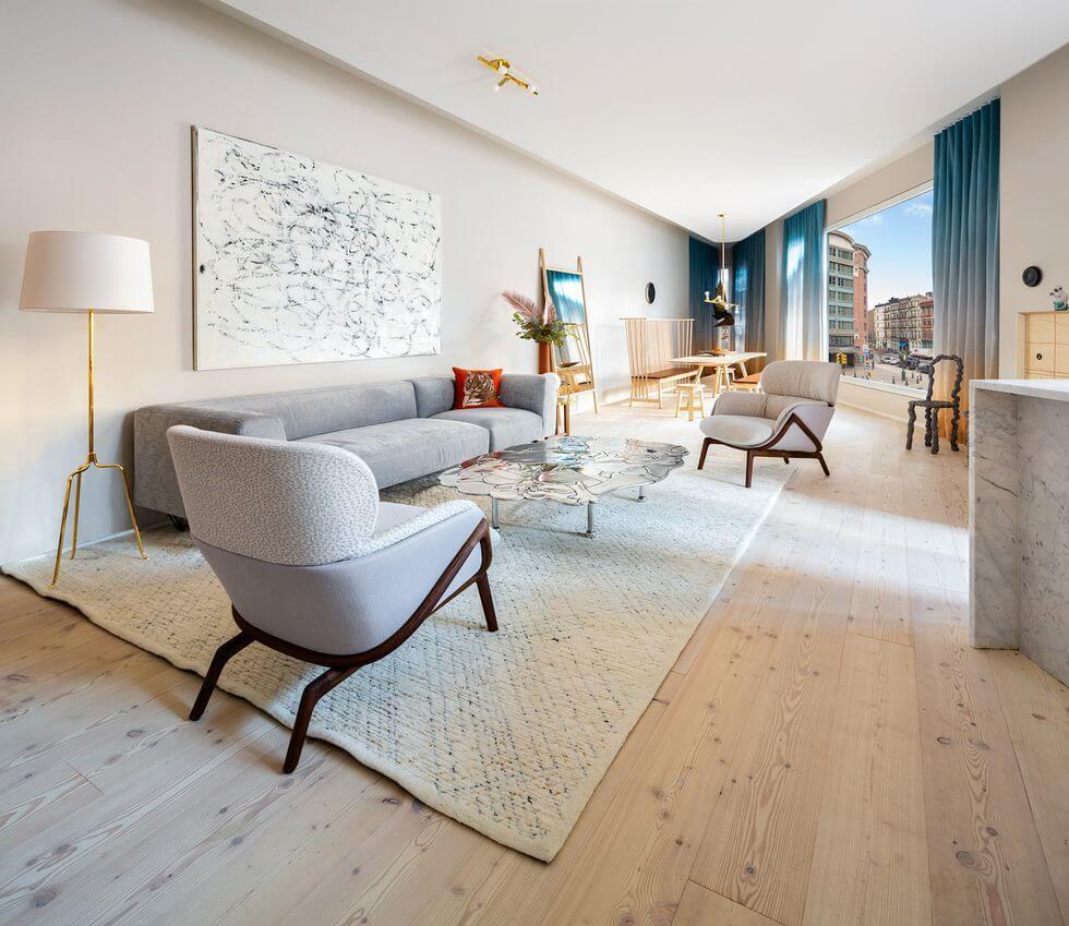 дизайн квартиры минимализм