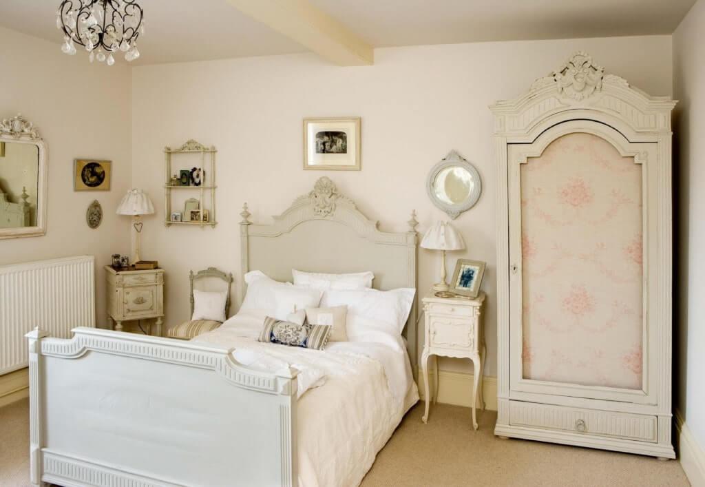 винтажный интерьер спальня