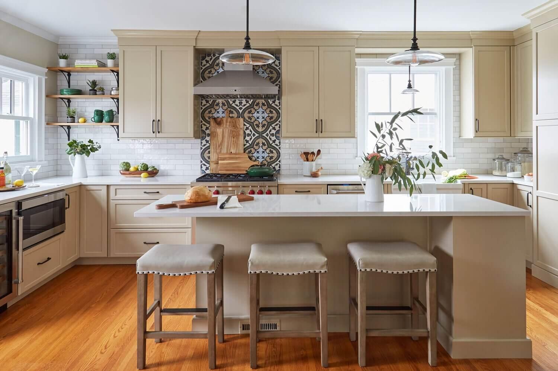 Кухня в стиле винтаж