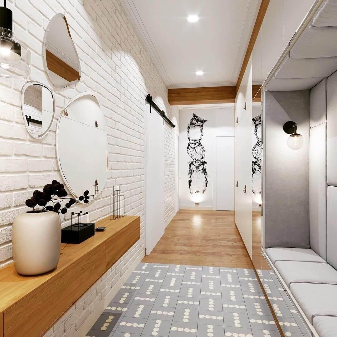 дизайн в прихожей комнате