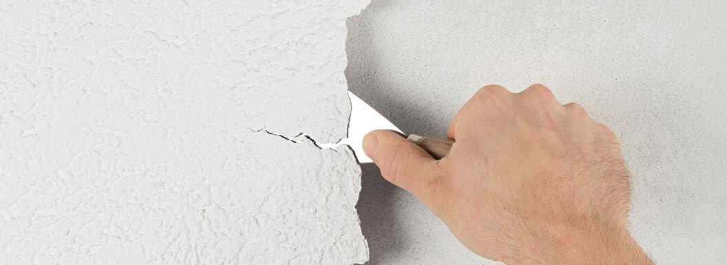 Как убрать старую фасадную краску